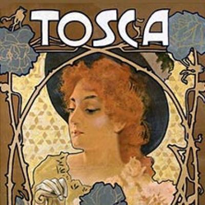 locandina della Tosca