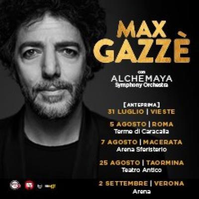Max Gazze - Taormina - 25 agosto
