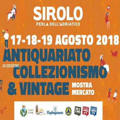 Sirolo mostra-mercato locandina 2018