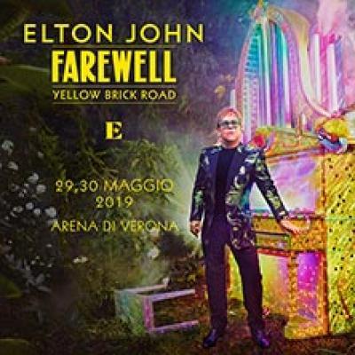 Elton John - Verona - 29 e 30 maggio