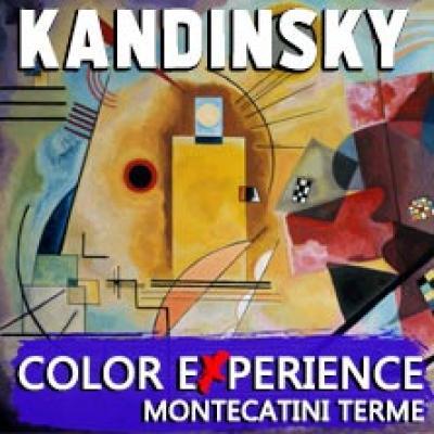 Kandinsky color experience, locandina