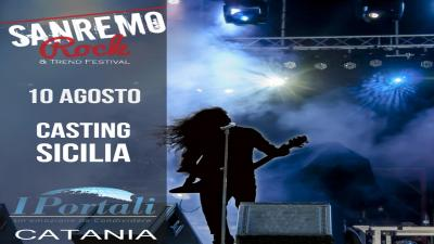casting regione Sicilia Sanremo Rock