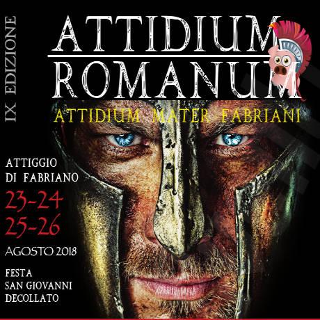 Attidium Romanum - Attiggio di Fabriano (AN) - dal 23 al 26 agosto
