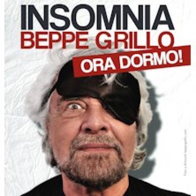 Insomnia, Beppe Grillo - locandina
