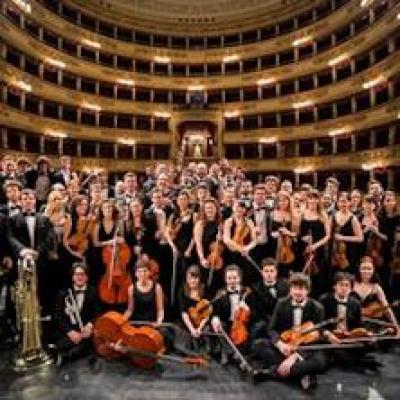 Musicisti sul palco della Scala