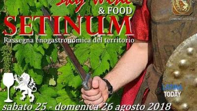 Sky wine & food - Sezze (LT) - 25 e 26 agosto