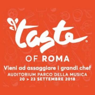 Taste of Roma, locandina 2018