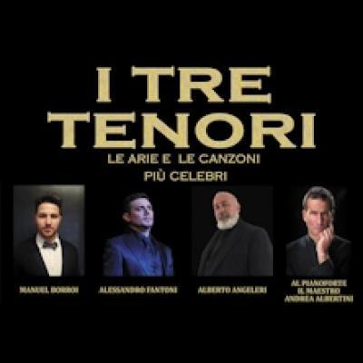 I tre tenori - Montecatini (PT) - 21 settembre