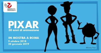 PIXAR. 30 anni di animazione @ Palazzo delle Esposizioni, Roma. Dal 9 ottobre 2018 al 20 gennaio 2019. © Disney/Pixar.