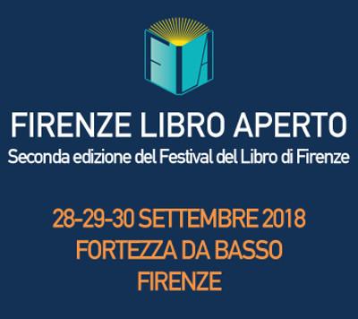 Firenze Libro Aperto 2018, seconda edizione. Fortezza da Basso, Firenze, dal 28 al 30 settembre 2018. Tema conduttore: Ponti. © Firenze Libro Aperto