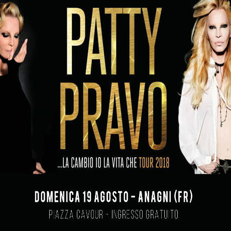 Patty Pravo - Anagni (FR) - 19 agosto