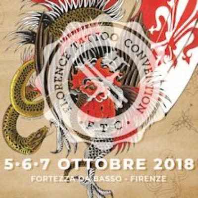 Florence Tattoo Convention - Firenze - dal 5 al 7 ottobre