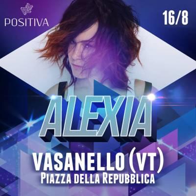 Alexia in concerto - Vasanello (VT) - 16 agosto