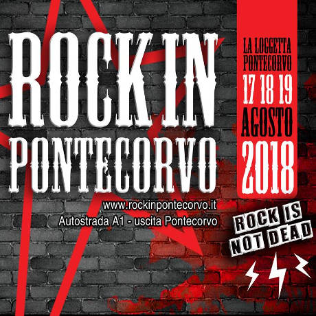 Rock in Pontecorvo - agosto 2018