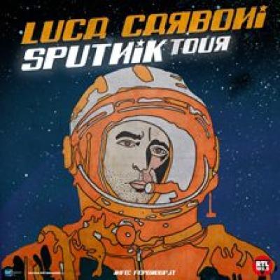 Luca Carboni, locandina Sputnik tour