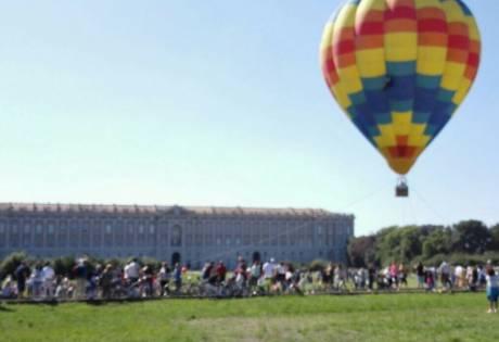 Una mongolfiera alla Reggia - Caserta - 30 settembre