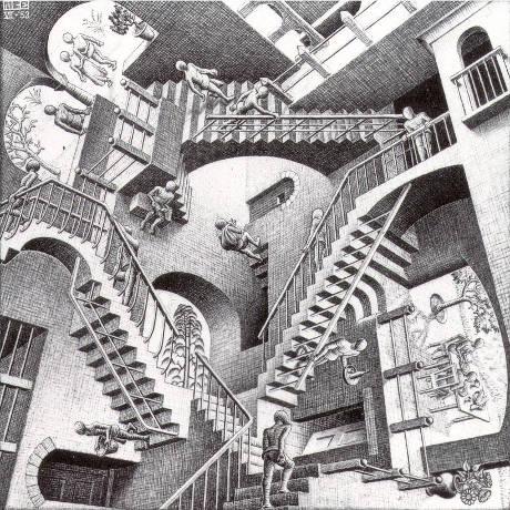 Escher - Napoli - da novembre 2018 ad aprile 2019