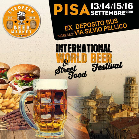 International World Beer Festival Pisa 2018