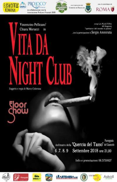 Vita da Night Club, locandina