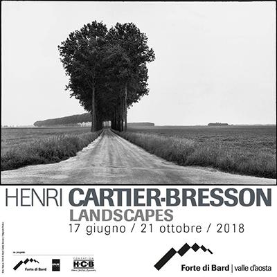 Henri Cartier-Bresson. Landscapes. Al Forte di Bard (Aosta) dal 17 giugno al 21 ottobre 2018. © Henri Cartier-Bresson / Magnum Photos / Forte di Bard.