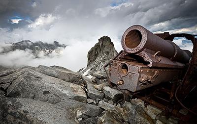 La Guerra Bianca. Fotografie di Stefano Torrione. Al Forte di Bard (Aosta) dal 29 marzo al 14 ottobre 2018. © Stefano Torrione / National Geographic Italia.