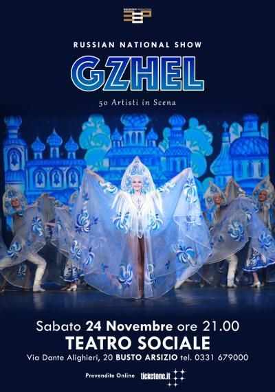 Russian National Show Gzhel - Busto Arsizio (VA) - 24 novembre