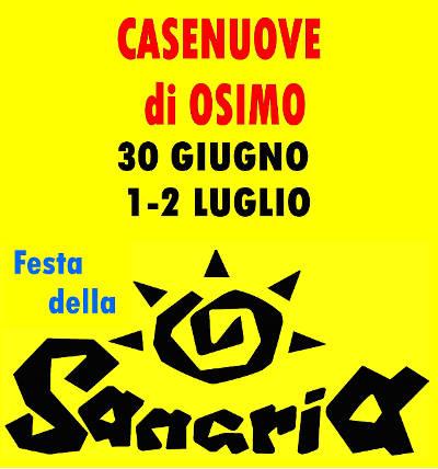 XXV°Festa Della Sangria - 30 Giugno 1-2 Luglio 2017 - Casenuove