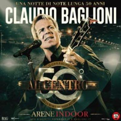 Claudio Baglioni - Ancona - 23 e 24 ottobre