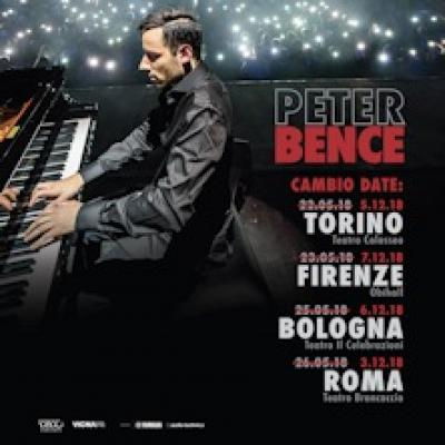 il pianista Peter Bence