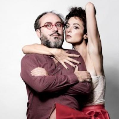 Gianluca De Angelis e Marta Zoboli