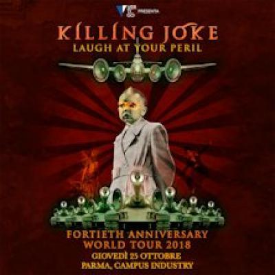 Killing Joke - Laugh At Your Peril, locandina