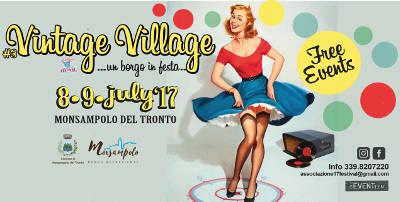 locandina manifestazione Vintage Village