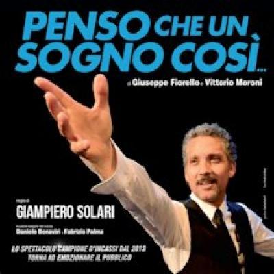Beppe Fiorello in Penso che un sogno cosi - Catania - 30 ottobre