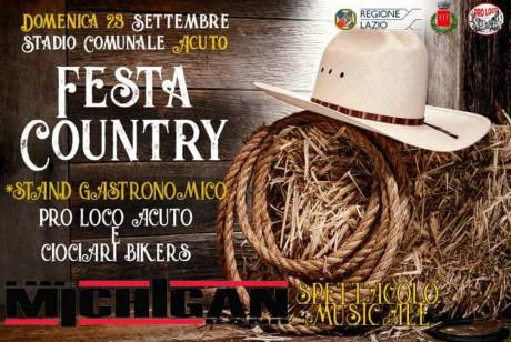 FestaCountry - Acuto (FR) - 23 settembre