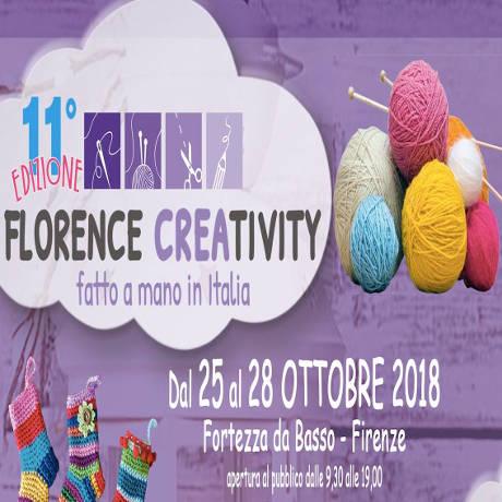 Florence Creativity 2018 - Firenze dal 25 al 28 ottobre