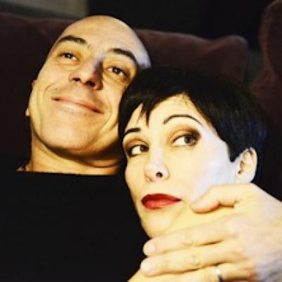 Tiziana Foschi e Roberto Ciufoli