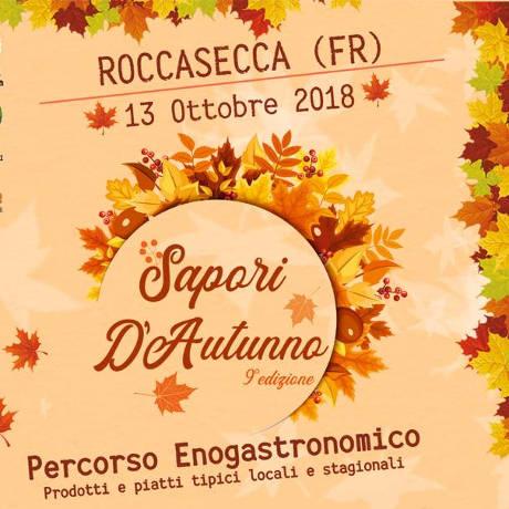 Saproi d'Autunno, Roccasecca 2018 - locandina