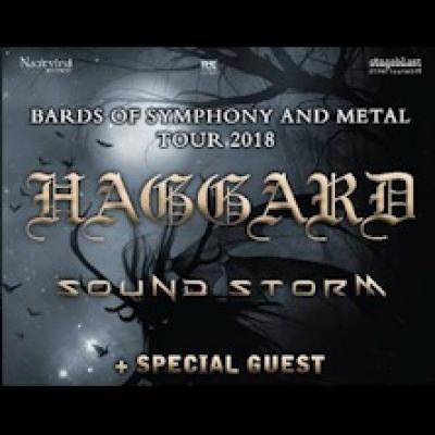 Haggard e Sound Storm, locandina