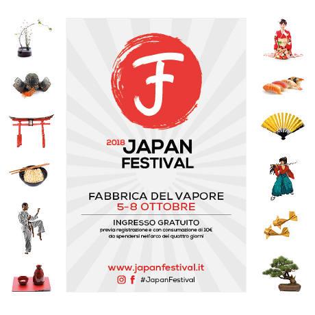 Japan Festival 2018, locandina
