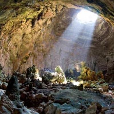una immagine delle Grotte di Castellana