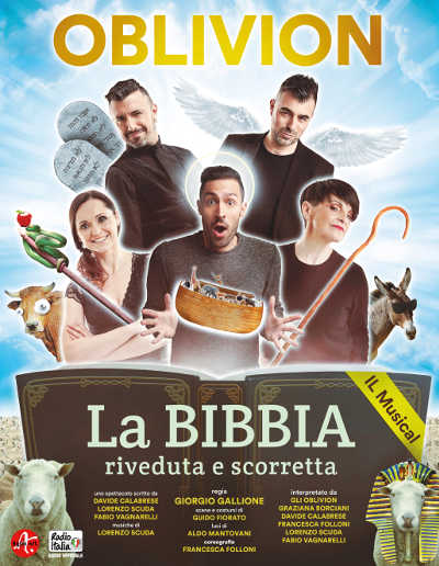 Oblivion, La Bibbia riveduta e scorretta - Latisana - 31 marzo 2019