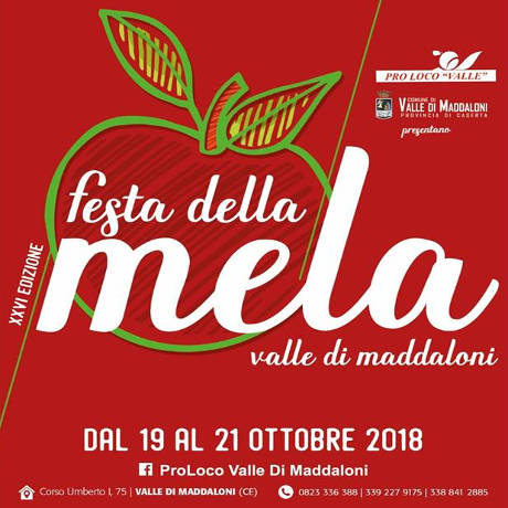 Festa della Mela di Maddaloni 2018, locandina