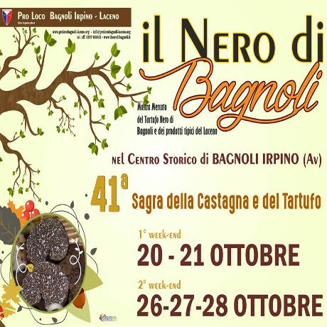 Sagra della Castagna e del Tartufo Nero - Bagnoli Irpino (AV) - dal 20 al 28 ottobre
