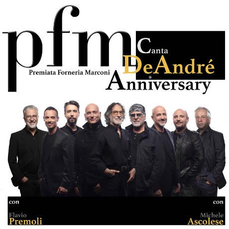 PFM canta De André Anniversary - Firenze - 28 marzo