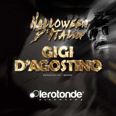 Gigi D'Agostino, Halloween d'Italia - Garlasco (PV) 31 ottobre