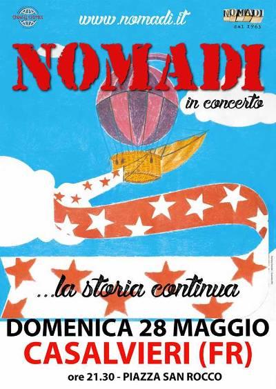 nomadi in concerto a casalvieri