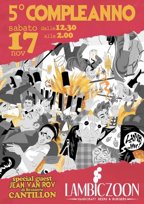 5° Compleanno Lambiczoon - Milano - 17 novembre