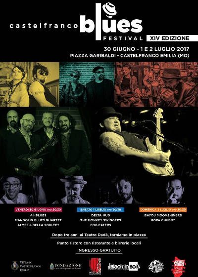 locandina Castelfranco blues Fest