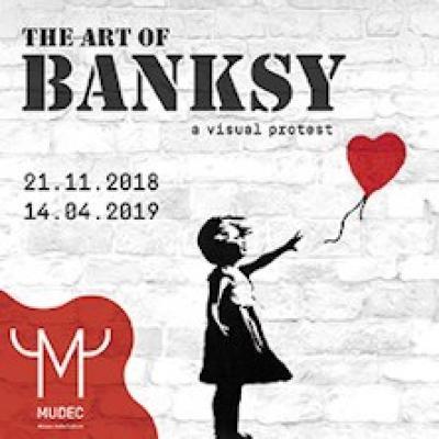Banksy - Milano - dal 21/11 al 14/4/19