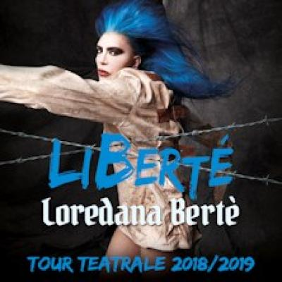 Loredana Berte - Liberte Tour Teatrale 2018-2019 - Bergamo - 17 maggio